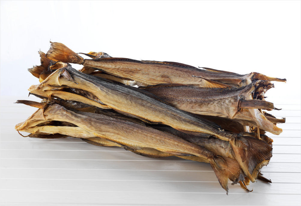 Stockfish of Cod in 45 Kg bales