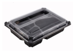 Bento Box With Strong Lid. Made In Japan. Microwave Packaging 110°C-