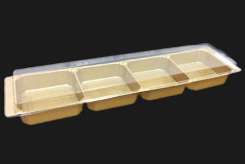 Good-Friend 4 Vertical Mooncake Tray (50 per lot) - Happypack Purchasing