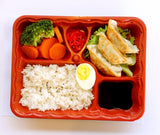 Commitment 5 Compartment + 1 Sauce Bento Packaging (25 per lot) - Happypack Purchasing