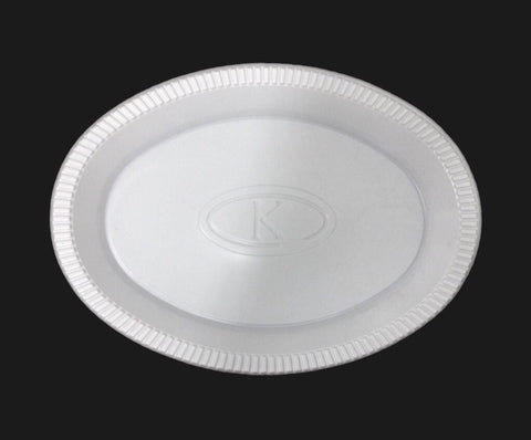 "Reality Plates Oval 10"" (50 per lot) - Happypack Purchasing"