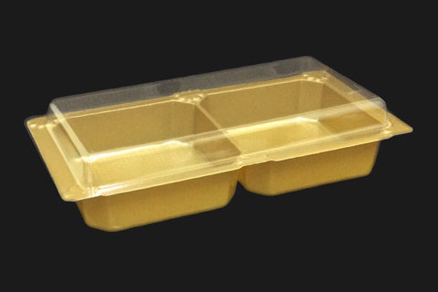 Honest 2 Mooncake Tray (50 per lot) - Happypack Purchasing