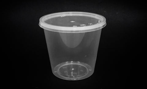 Round Containers Thinwall (10,000 per lot)- Microwave-safe - Happypack Purchasing