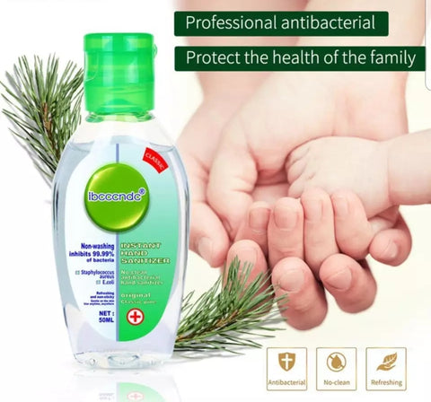 50ml and 200ml 75% Alcohol Anti-Bacterial Disinfectant Instant Hand Sanitizer Gel for Covid (1 per lot)