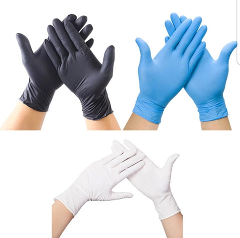 Disposable Gloves Latex Anti-slip Nitrile Anti-static Medical Laboratory to Combat Covid-19 (20-2000 pieces per lot)