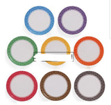Sushi Printed Plates Colour Buffet Reusable Sushi (50 per lot)