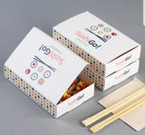 17cm Sushi Paper Box red or blue sushi more (50 per lot)