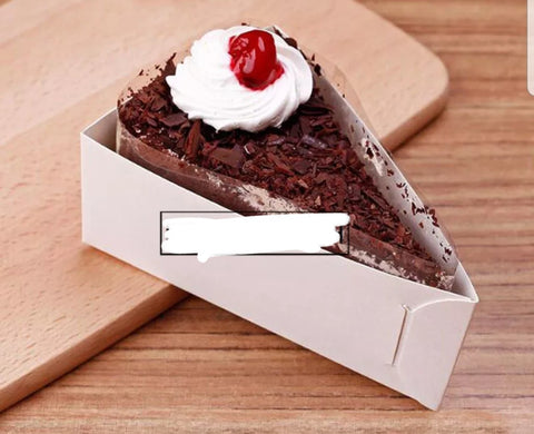 Triangle Cake Holder Paper more (500 per lot)