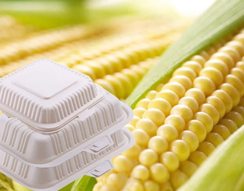400ml/600/800/1000/1200ml Corn Bento or 450/650ml Bowl Biodegradable Eco More (50 per lot)