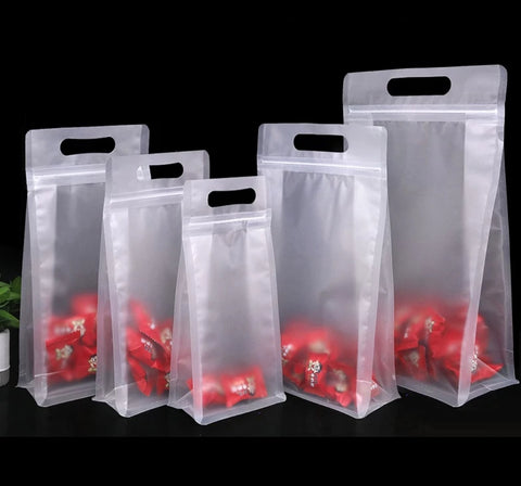 Transparent Stand Up, Zip lock Carrier, Moisture Prevention Ziplock more  (50 per lot more)