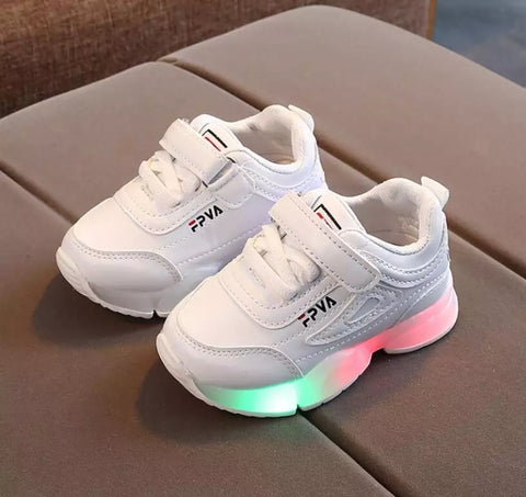 LightUp All Style Kids Easy Breathable Sports Shoes Little Children 10 Sizes Kid Mall (1 pair per lot)