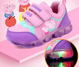 Humble White/ Pink/ Black/ Purple/ Orange Kids Breathable Sports Shoes Little Children 10 Sizes Kid Mall (1 pair per lot)