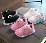 White/ Pink/ Black Kids Easy Breathable Sports Shoes Little Children 10 Sizes Kid Mall (1 pair per lot)