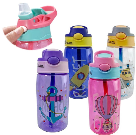 450ml Children Water Bottle Leak Proof Outdoor