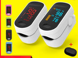 Oximeter Oxygen Heart rate Portable Measure Accurate Health Mall