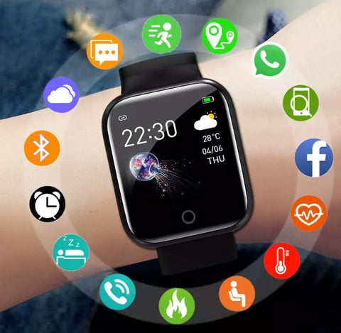 Futuristic Smart Watch Connect To iPhone or Andriod Tech Mall