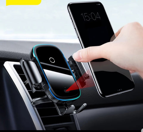 Champion Car Wireless Charger Fast Charging Than Normal Wire Tech Mall