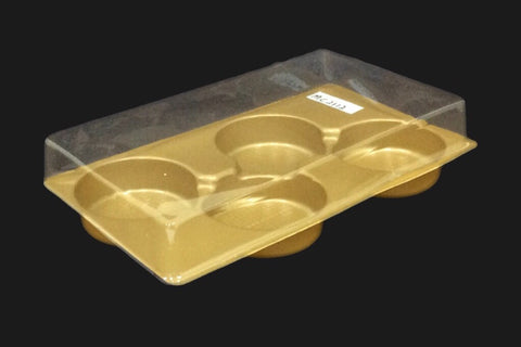 4 Small Mooncake Tray (50 per lot) - Happypack Purchasing