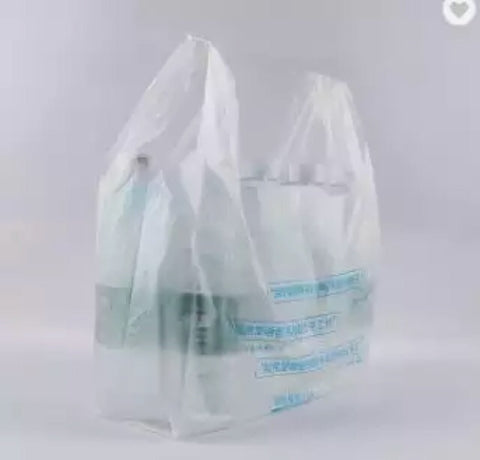 Cornstarch Compostable Biodegradable Bag Logo Customisable Bag More Compostable PLA (3,400 per lot)
