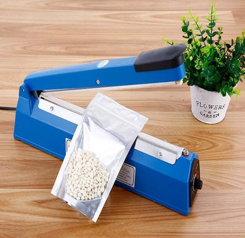 Simple Hand heat seal plastic film bag teflon kitchen tool storage machines foodgradebags device