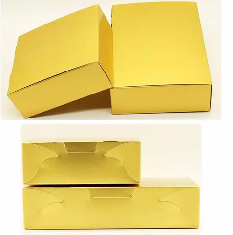 Mooncake Box paper in gold mooncake more  (30 per lot)