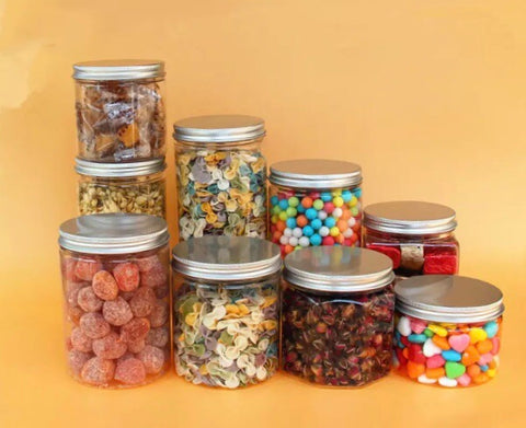 Air Tight Jar 9 sizes 7 Lid colour choices 280ml to 960ml Store more (30 per lot)