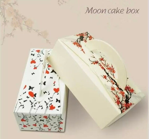 2 Snowskin Size Mooncake Paper Box Mooncake more  (50 per lot)