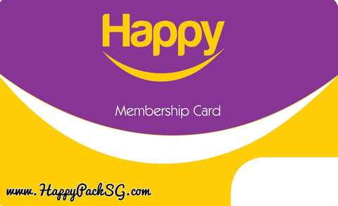 Happy Membership More (1 eCard per Member)
