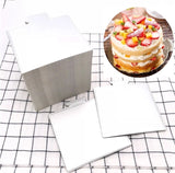 Gold Small Paper Board For Moose Cakes Plates Dessert More (100 per lot)