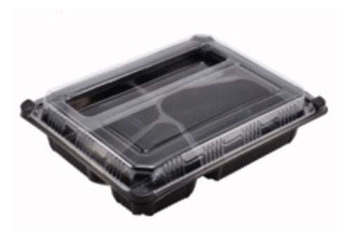 Tactical 4 Compartment Bento Packaging box (200 sets per lot)