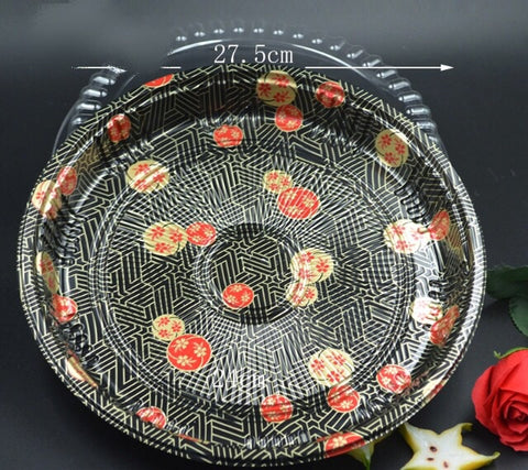 Printed Platters 3 designs in 3 sizes festivity more sushi more (20 per lot)