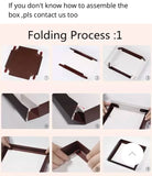 Cake Box 4-16 inches Paper more (1 per lot)