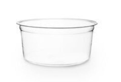 Effort 12oz PLA Round Deli Container & PLA Lid (500 per lot)