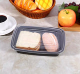 3 Colours 1000ml Meal Prep Bento Containers with Lid Microwavable Plastic more (10 per lot)