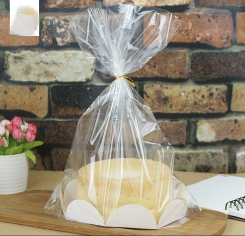 8 inch Cake Bag Packaging with Paper more Base (10 per lot more)