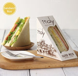 Sandwich Paper Box with Window Paper more (50 per lot more)