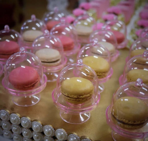 Mini Cupcake Macaron Beauty and the Beast Rose Box Bakery More 5 Colour Choices (100 per lot)