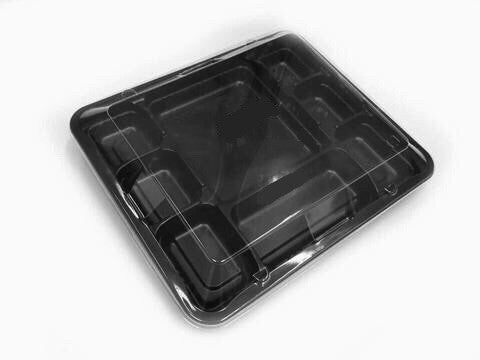 Challenge Bento Packaging 8 Compartment Box (25 per lot) - HappyPack.SG  - 1