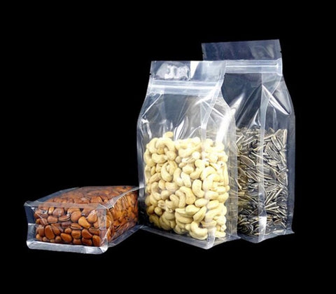 Transparent Stand Up, Zip lock, Moisture Prevention Ziplock more  (100 per lot more)