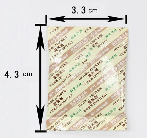 Oxygen Absorber 50CC CO2 Absorber Deoxidant Sachet Food Grade mooncake more (250 per lot)
