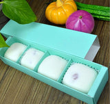 26*6*5cm Mini Mooncake more 4 Border Packaging Box Cookie Hand Gift 3 Colours Drawer Candy (100 per lot)