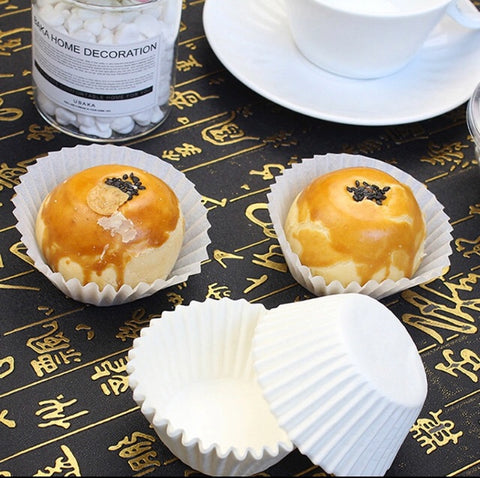 Pineapple Tarts Cookies Baking Paper Liner Holder Mooncake More (200 per lot)