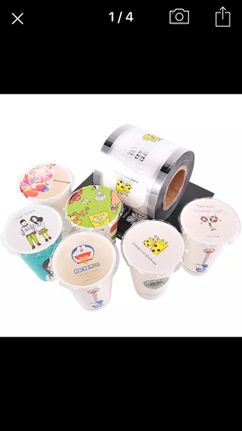 Designer Sealing film for bubble Tea juice Seal Cup Machine Stainless Steel Boba Tapioca Pearl Device Automatic  Cup Diameter 90/95mm Device Seal 2000 cups (1 per lot)