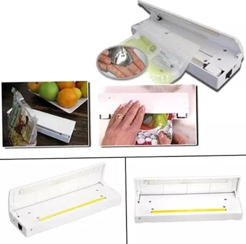 Portable Mini Impulse Heat seal plastic film bag commercial teflon kitchen tool storage machines device (1 per lot)