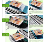Film Cling Wrap Machine Tray Sealing Wrapping Machine device Plastic Wrap for Fruits and Food  (1 per lot)