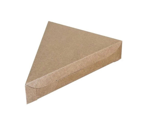 Slice Pizza Box in Brown Kraft (200 per lot)