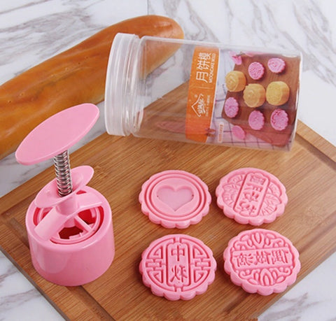 75g Snowskin Mooncake Size Stamps + Stamper Mold Molder Tool Maker Mooncake More (1 per lot)
