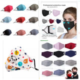 Washable N95 Cloth Masks with Replaceable N95 Activated Carbon Filter to Combat Covid-19. Anti-dust and Filters out bacteria and viruses (1 pieces per lot)