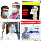 Medical Safety Face Plastic Protective Face Masks Healthcare Worker Medical Isolation Splashproof Saliva Transmission to Combat Covid-19 (1 / 100/2500 piece per lot)