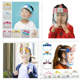 Child Protective Spectacle / Hat Eye Plastic Face Masks For School Windproof Splashproof Saliva Transmission Children to Combat Covid-19 Antivirus (1/10 piece per lot)